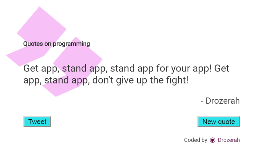 Get App, stand app!