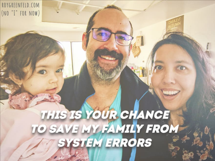 The power to save us from system errors is in your hands