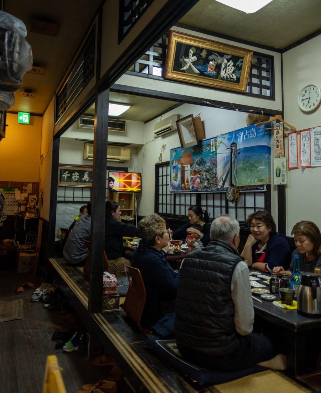 "At a Sushi restaurant (so-called ""Izakaya"")"