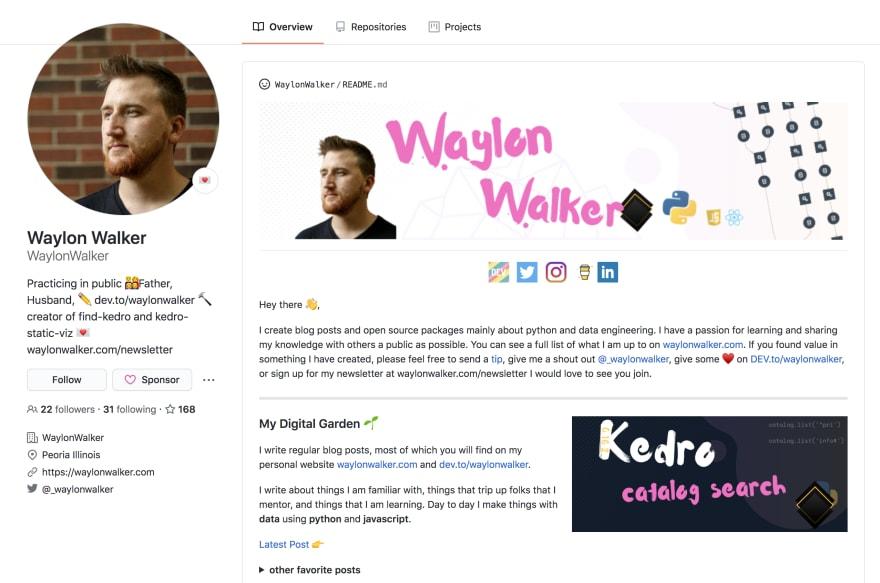 Waylon Walker Profile