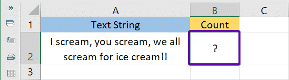 Example Text String