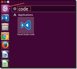 Run Visual Studio Code (VSCode) in Ubuntu using Dash