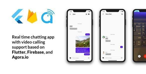 Flutter Firebase Chat: based on Flutter, Firebase, and<br> Agora.io
