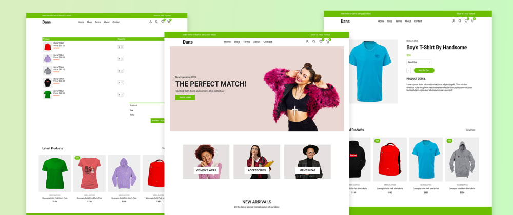 Cover image for Complete Responsive Ecommerce Website with HTML CSS & JavaScript