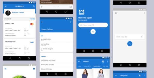 MaterialX Flutter – Flutter Material Design UI Components best flutter app templates