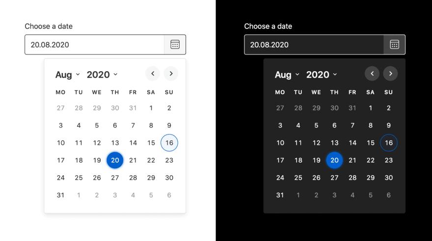 Duet Date Picker