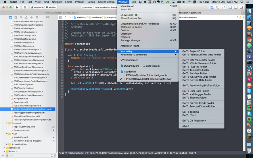 From Xcode plugins to Xcode extensions - DEV Community 👩 💻👨 💻