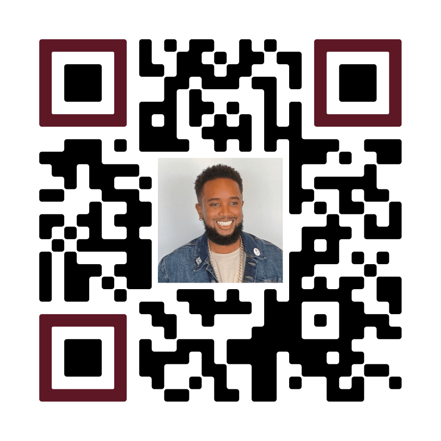 Justin's - ThugDebugger unique QR code used as an example