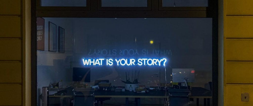 Cover image for Interviews are about telling a story