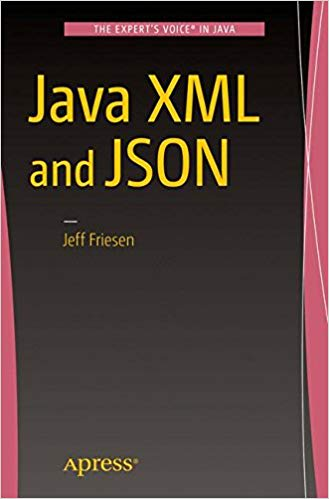 Java XML and JSON 1st ed. Edition