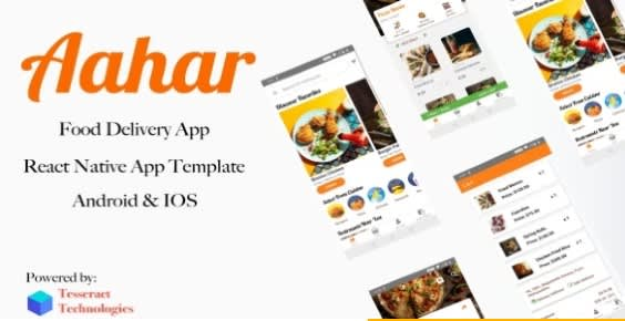 Aahar - Food Delivery App