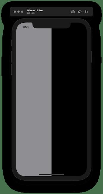 Horizontal alginment background colors