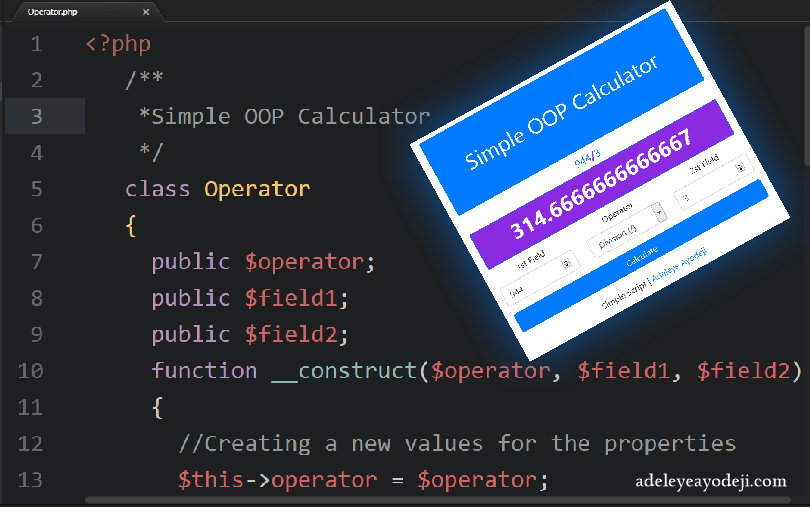 Object-Oriented Programming (OOP) in PHP adeleyeyayodeji.com