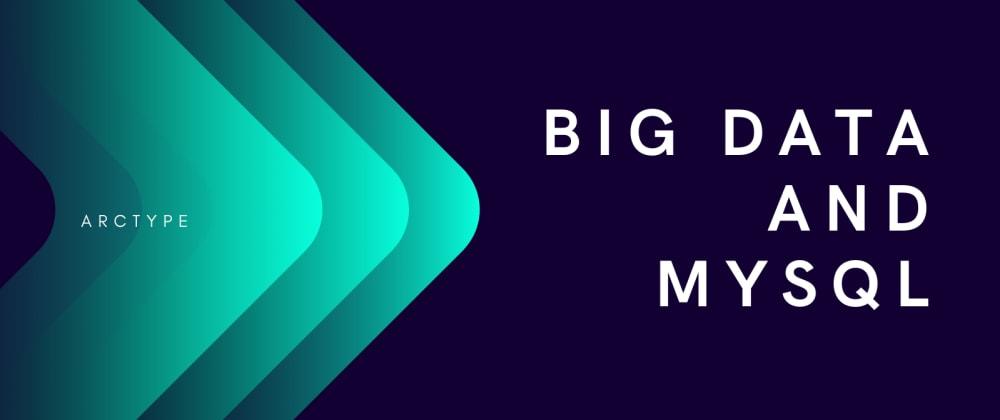 Cover image for Big Data + MySQL = Mission InnoPossible?