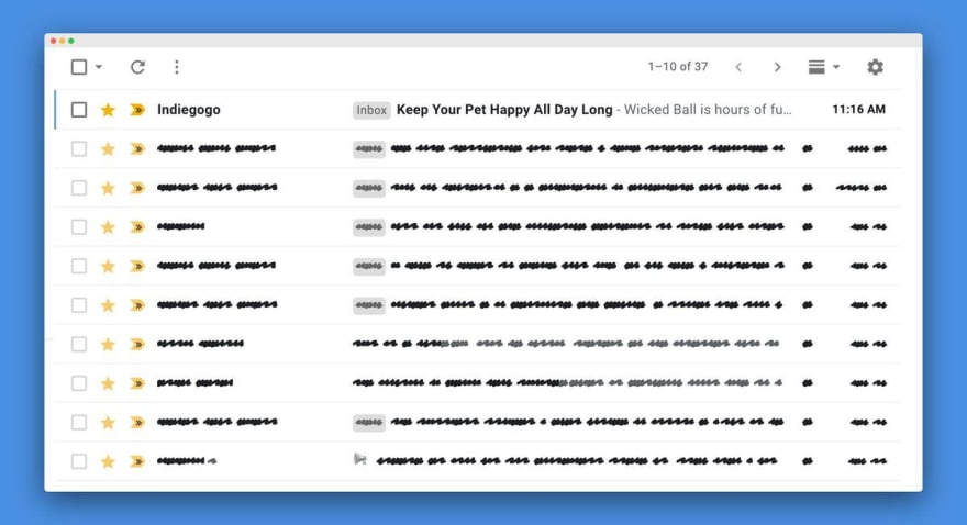 A Chrome extension to focus on your email