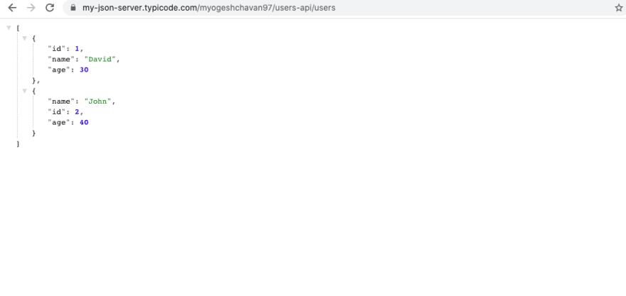 Users API