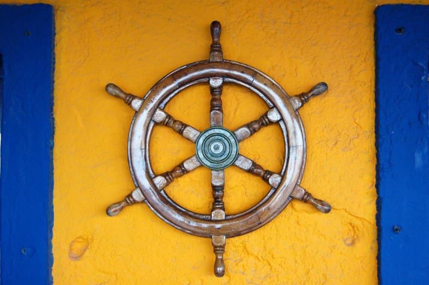 Ship wheel for kubernetes