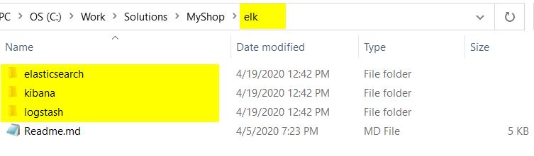 Create the folder structure