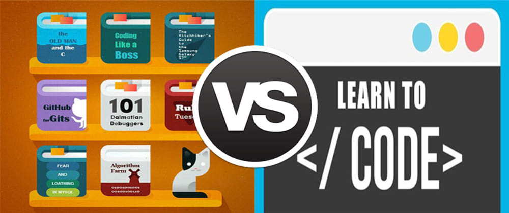 Cover image for Books vs Online Courses