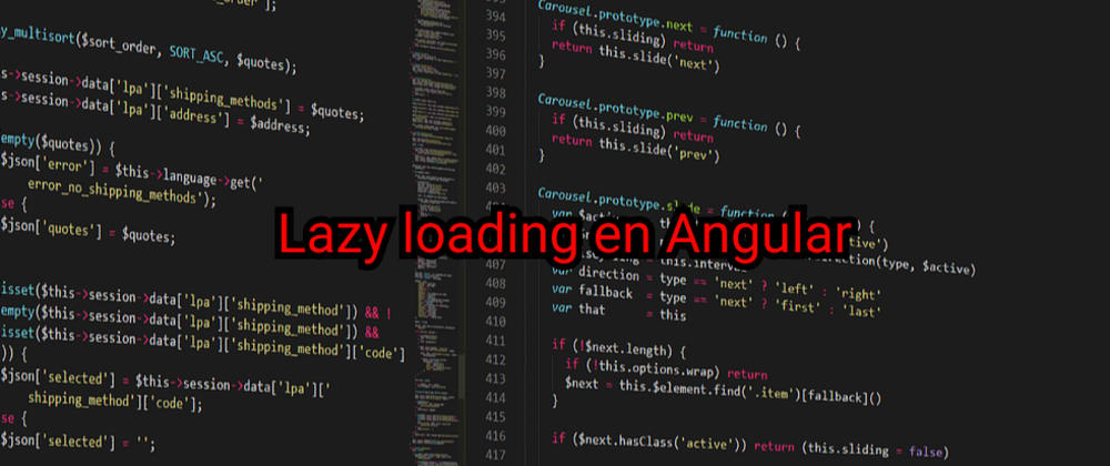 Cover image for Aplicando lazy loading a tu app