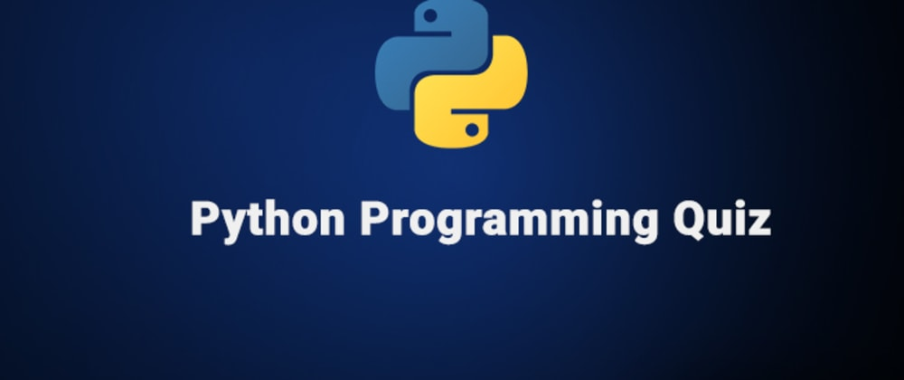 Cover image for Python Operators Quiz