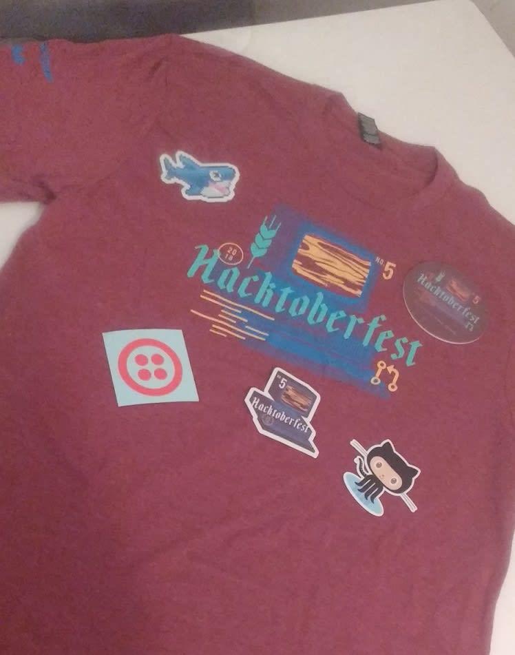 Hacktoberfest 2018 swag
