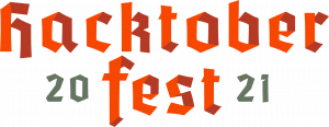 hacktoberfest 2021 logo