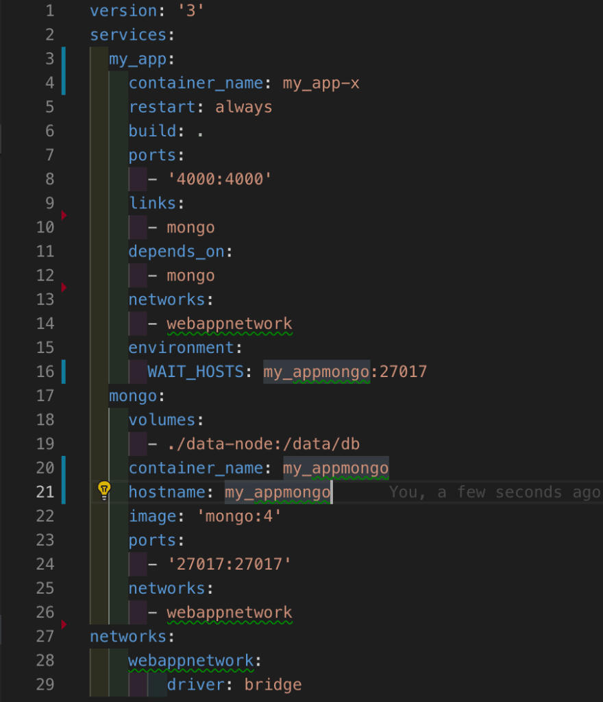 Docker description example