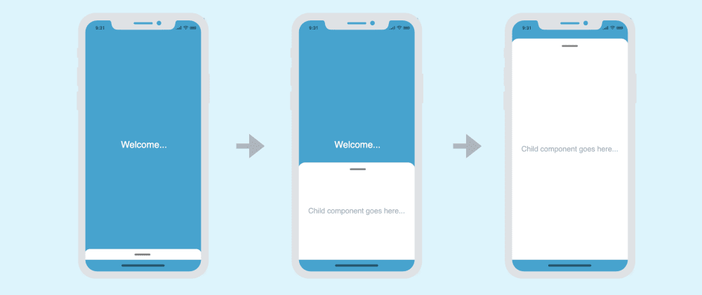 Cover image for Implementing a (swipe-up) bottom drawer with animations in React Native | No external libraries
