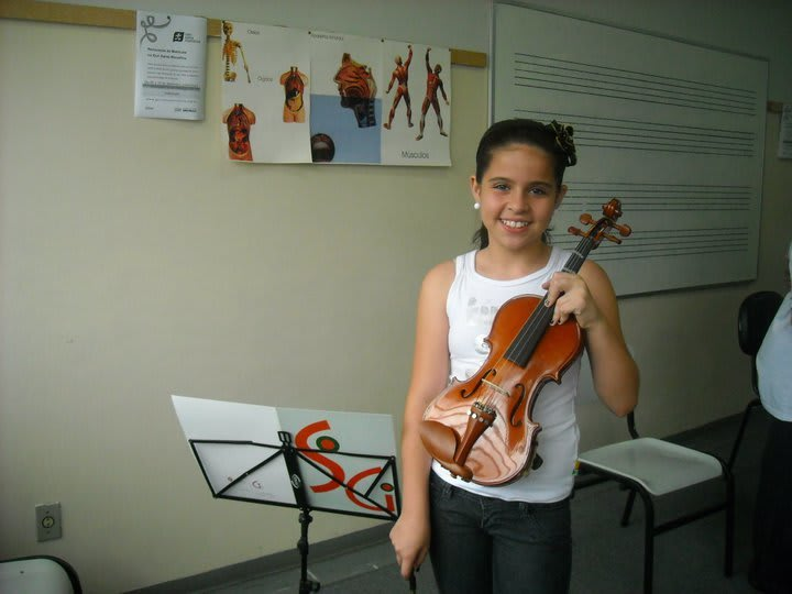 Me child without the violin