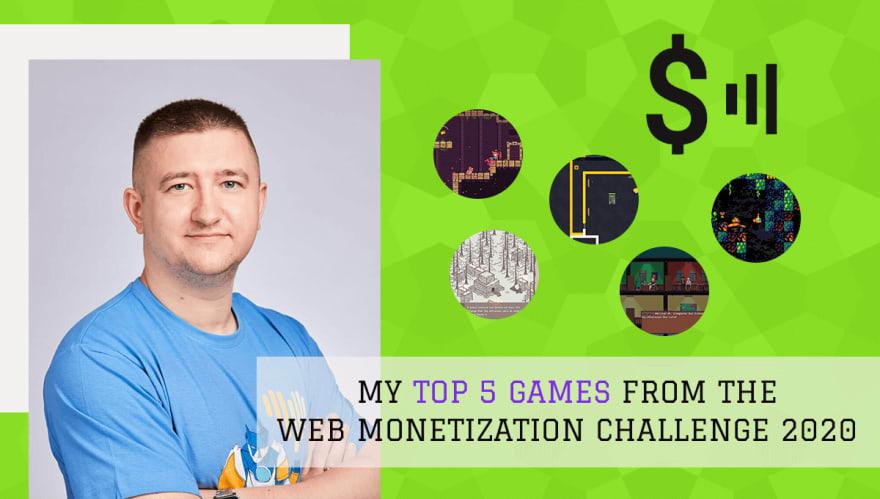 End3r's Corner - The Web Monetization Challenge 2020: top 5