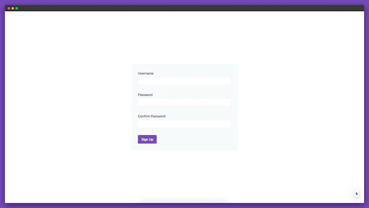 Sign-Up Form Using Chakra UI