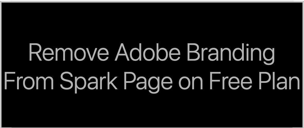 Cover image for Create and publish visually stunning web pages in minutes and remove adobe branding for free