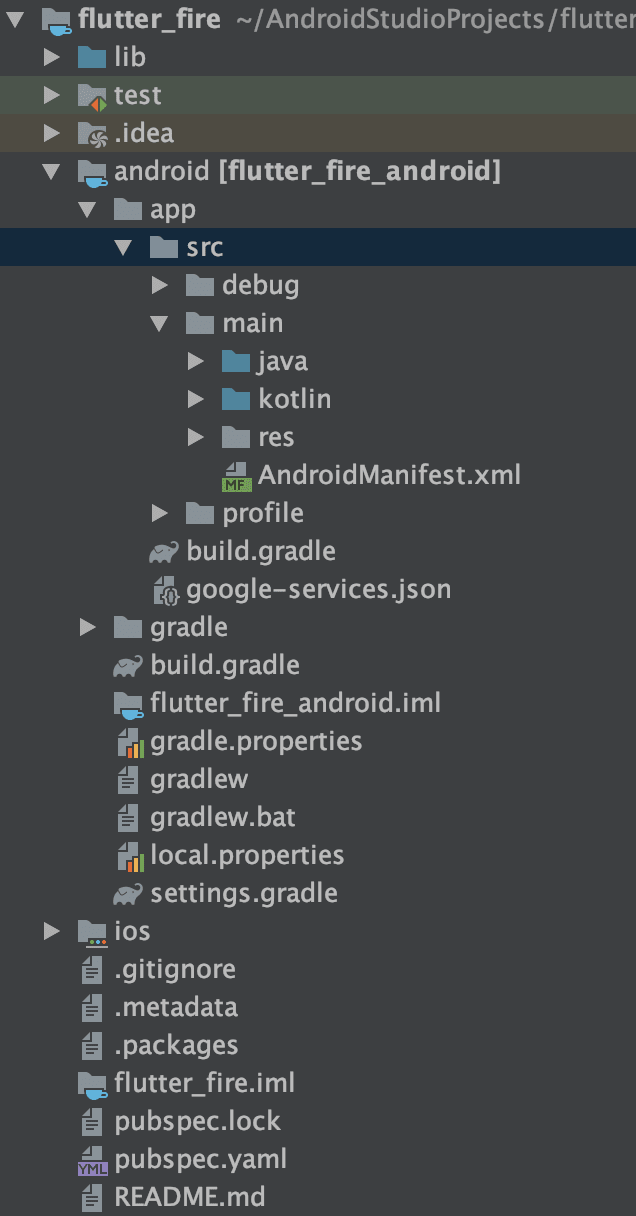 Where is the google-services.json