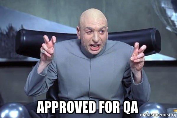 Approved for QA