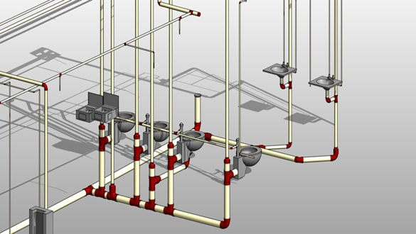 3D-BIM-modeling-of-plumbing-systems