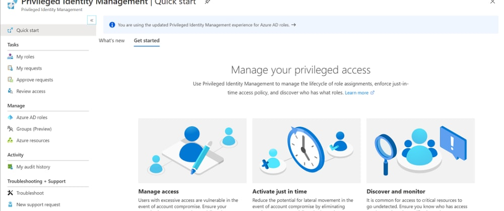 Cover image for Microsoft Azure's Privileged Identity Management