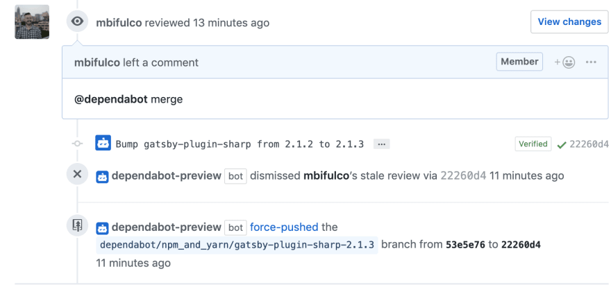 Dependabot will merge this PR once CI is done, thanks to the @dependabot merge command
