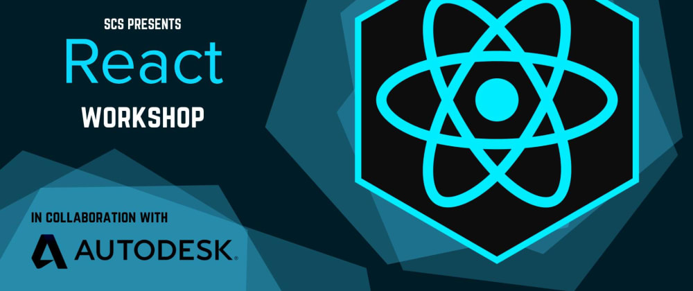Cover image for React Workshop - free online workshop by SCS Concordia