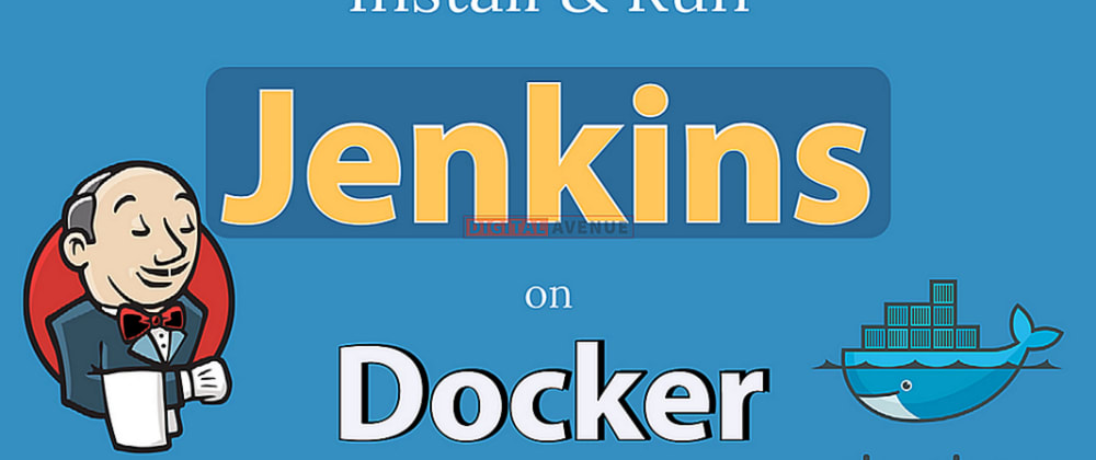 Cover image for Run Jenkins In Docker Using Docker Compose With Persistent Volumes