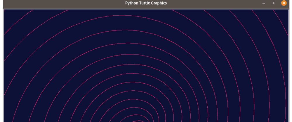 Cover image for How to draw a spiral with Python turtle