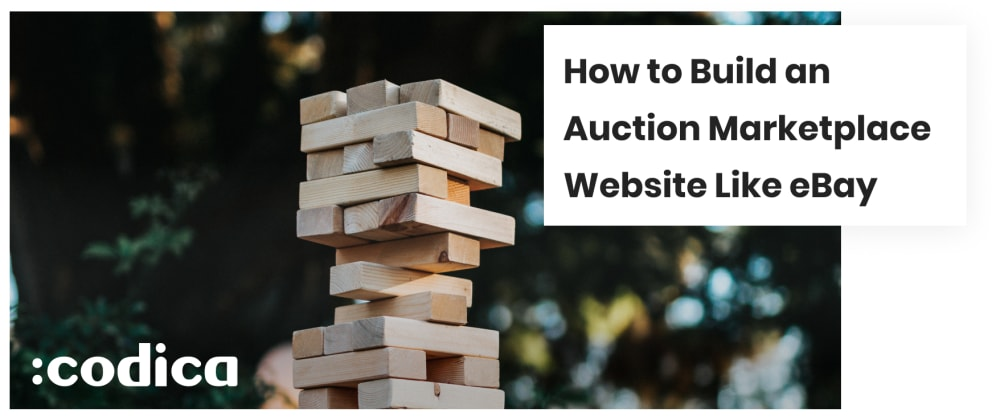 Cover image for How to create an auction marketplace website like eBay