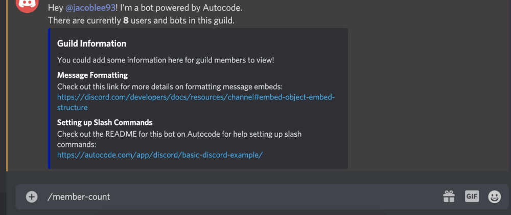 Cover image for Build a Discord Bot in 6 Minutes With Node.js and Autocode