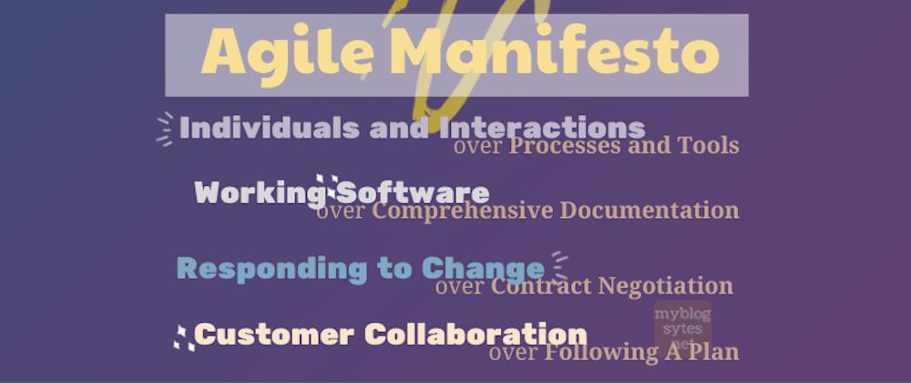 Cover image for Agile Manifesto