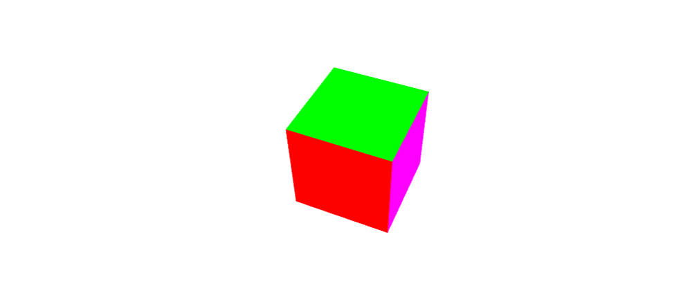 Cover image for WebGL Month. Day 16. Colorizing cube: depth buffer and array uniforms