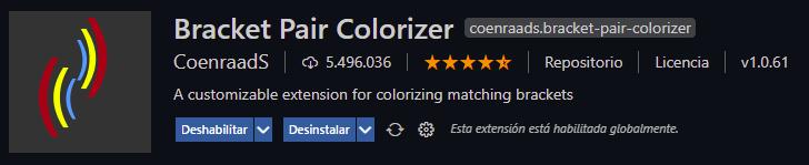 bracket pair colorize