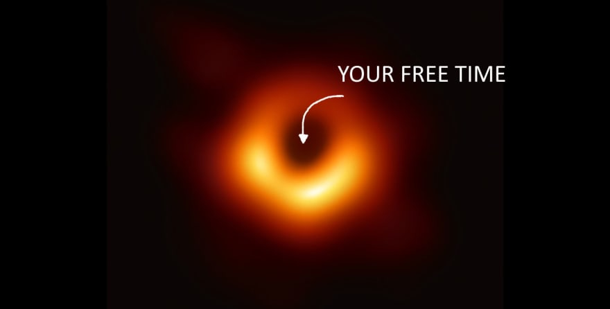 Free time in black hole