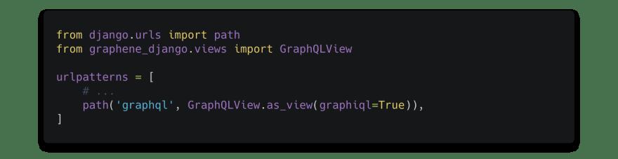settup graphql endpoint