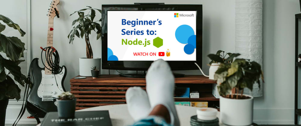 Cover image for Learn Node.js with this series of short videos for beginners