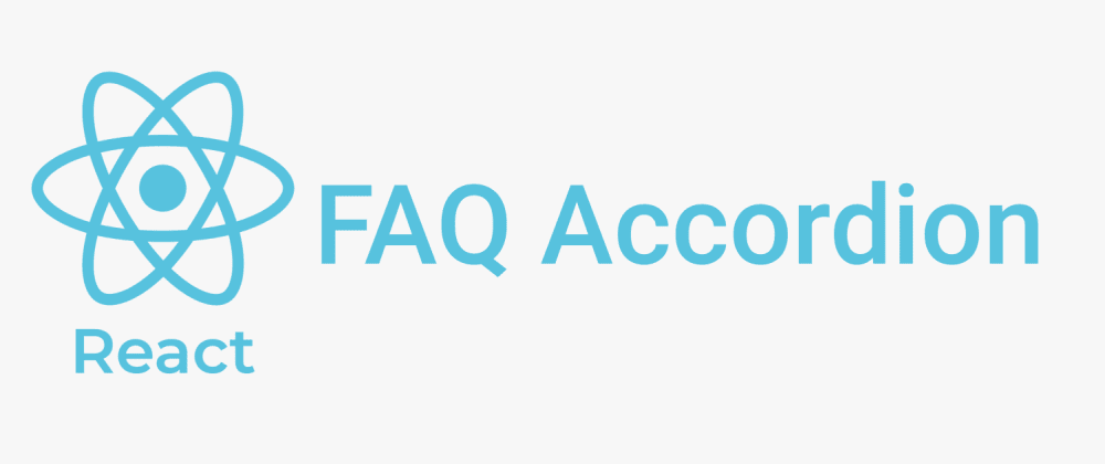 Cover image for How to build a React FAQ accordion